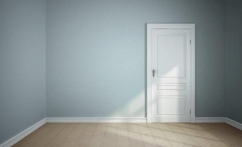 Interior Painting - Bedroom, walls, skirtings & door