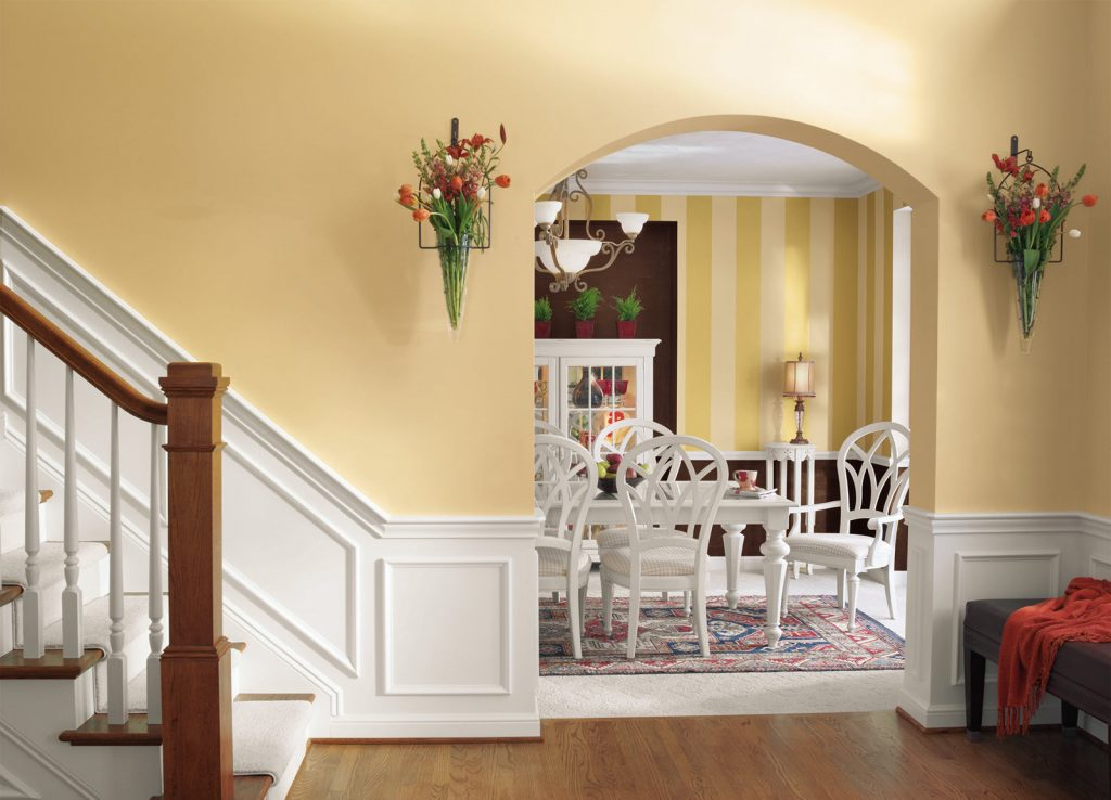 Interior Painting - Stairs, Hall, Bannisters, Walls & Ceiling